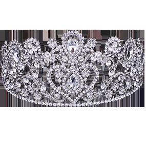 Tiara und Kronen als die perfekten Accessoires für deine Hochzeit.