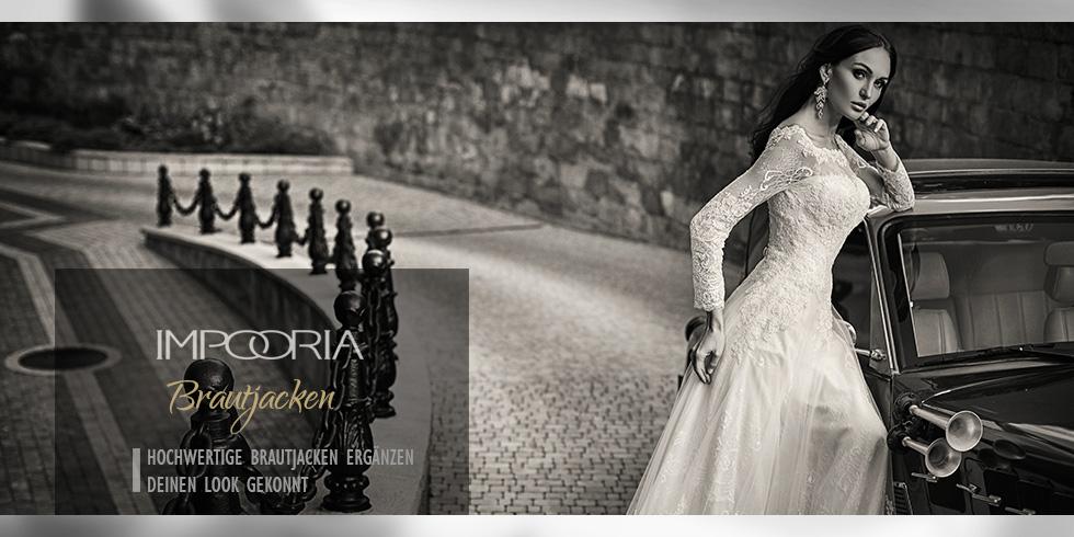 Brautkleider online - IMPOORIA - Brautjacken Bolero online ...